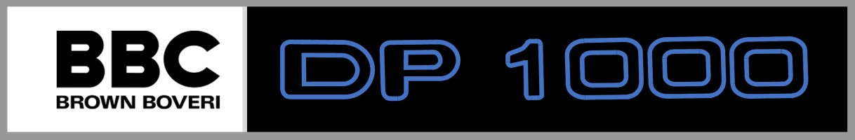 BBC DP1000 logo Custom
